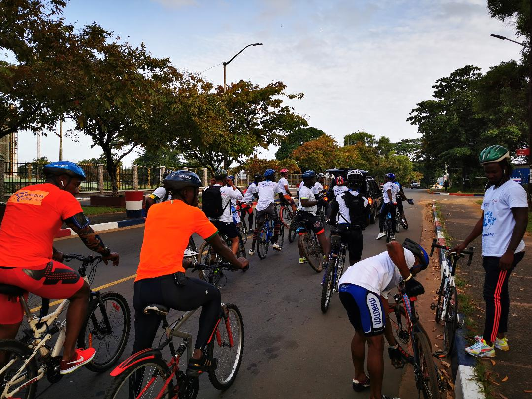 Photo of Monrovia Joins The World In Observing World Cycling Day